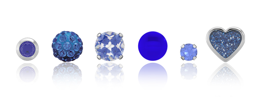 Earring and Ear Piercing Trends 2020 – #1: Classic Blue